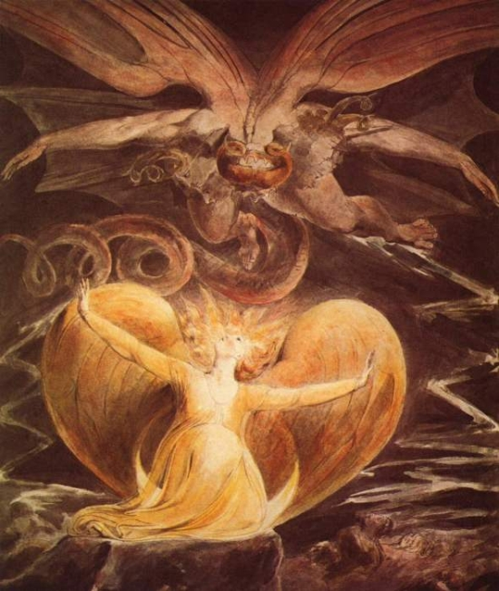 The Great Red Dragon by William Blake